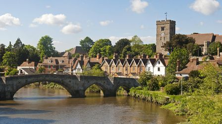 Aylesford and the River Medway (photo: asmithers, Getty Images)