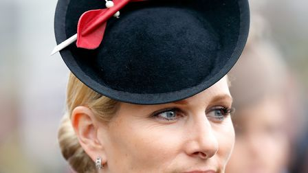 Zara Tindall attends day 4 'Gold Cup Day' of the Cheltenham Festival at Cheltenham Racecourse (c) Ma