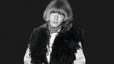Brian Jones from The Rolling Stones at Concertgebouw in Amsterdam, September 1, 1967