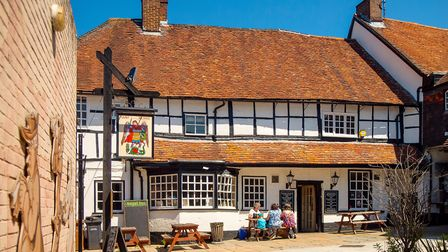The 15th Century Angel Inn at Andover by Anguskirk, Flickr (CC BY-NC-ND 2.0)