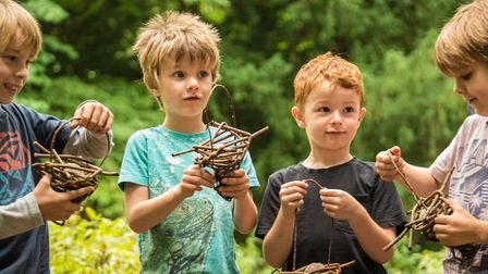 Crafts and activities at Ashridge Estate get youngsters exploring the wild (photo: Dawn Biggs, Natio