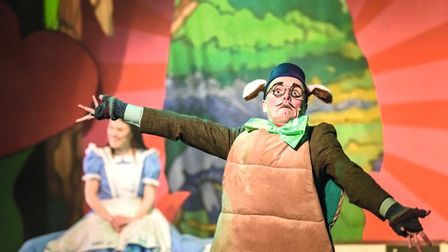 Immersion Theatre's Alice in Wonderland will be performed outside at Hatfield House