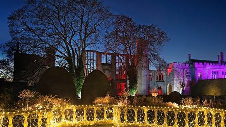 Sudeley Castle's 'Spectactle of Light'