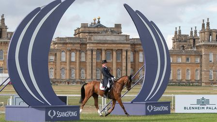 Oliver Townend (GBR) & Ulises - CCI3* - Dressage - The SsangYong Blenheim Palace International Horse