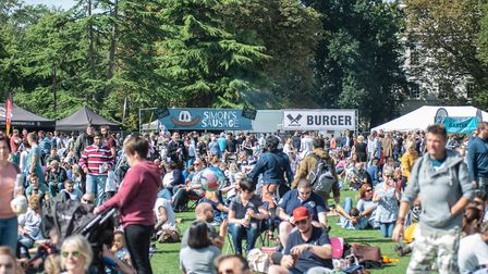 Leamington Food Festival takes place this weekend (c) Jamie Gray