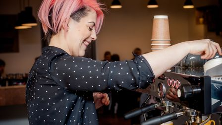Lydia Papaphilippopoulos-Snape, owner of Warwick Street Kitchen (c) Jennifer Peel Photography