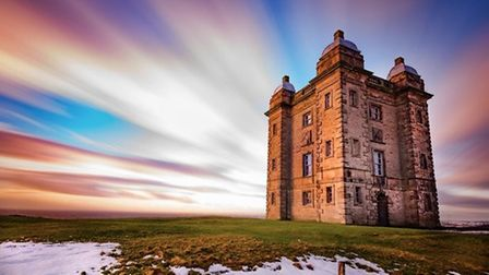 Lyme Park Cage, sunset timelapse by Stephen Bell