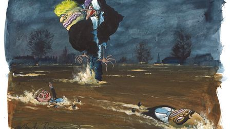 Illustration by Martin Rowson.