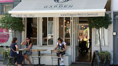 Vegan eatery - The Garden is a favourite with well-heeled healthistas