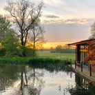 Riverside Lodge, situated on the edge of a New Forest lake (Photo by Short Stay Homes)