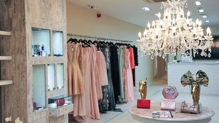 Matthews ready-to-wear collection on the ground floor of his Chester flagship store