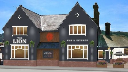 The Red Lion, Hope, Wrexham is undergoing investment