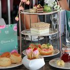Cheshire Life Afternoon Tea at 1539 Restaurant, Chester Racecourse *** Local Caption *** Cheshire Li