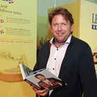 Celebrity chef James Martin *** Local Caption *** International Cheese Show at Nantwich