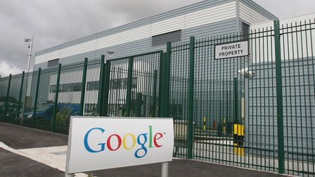 A general view of Google's data centre in Dublin. Photograph: Niall Carson/PA.