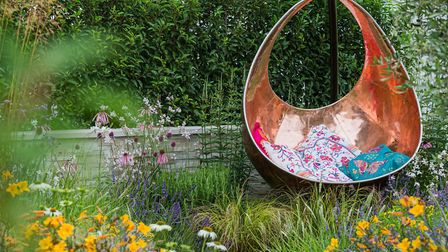 The Phytosanctuary Garden. Designed by Kristian Reay. Sponsored by London Stone, Macgregor Smith, Pr