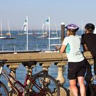 The view out over the Solent from Cowes (Photo by www.visitisleofwight.co.uk)