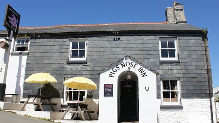 The Pigs Nose pub is one of East Prawle's distinguished buildings