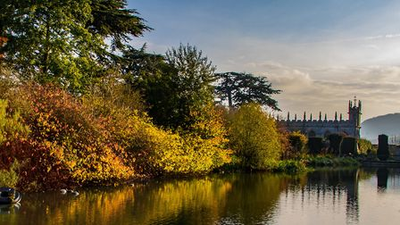 Autumn at Sudeley Castle and Gardens (c) Richard Atkinson