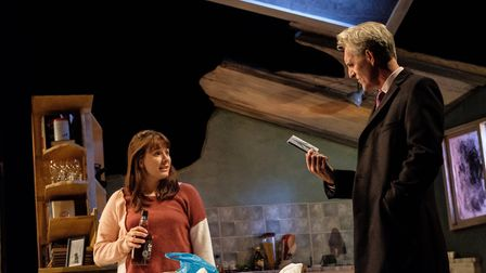 Kyra (Rosie Wyatt) and Tom (Louis Dempsey) in Skylight (c) Josh Tomalin
