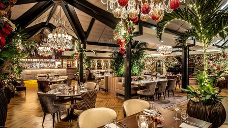 Palm Court at the Grosvenor Pulford Hotel & Spa near Chester