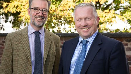 John Fisher (right) joins Lodders as a partner in the Agriculture and Rural Sector team led by James