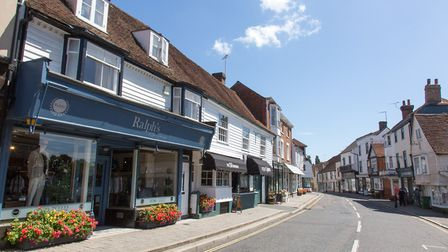 Cranbrook town centre: easy to imagine how it would have looked hundreds of years ago (photo: Manu P