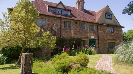 Cranbrook museum is set in a picturesque 15th century timber-framed house (photo: Manu Palomeque)