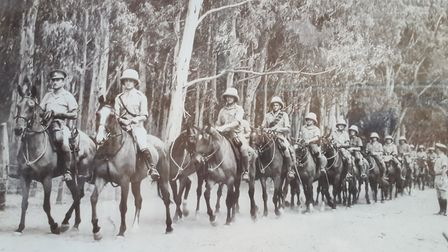 Cheshire Yeomanry in Palestine during the Second World War