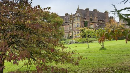 Knightshayes Court has glorious autumnal gardens, full of unusual trees and exotic plants