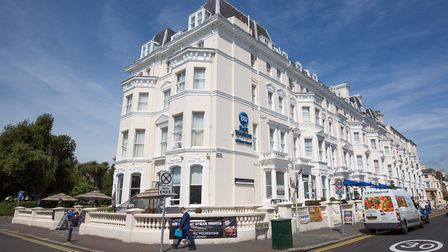 The Best Western Clifton Hotel enjoys a prominent position on the Leas (photo: Manu Palomeque)