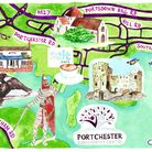 Portchester (Illustration by Lucy Atkinson)