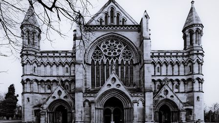 St Albans Abbey reportedly has a few skeletons in the closet (photo: Ann Wuyts, Flickr, http://bit.l
