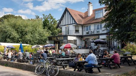The Weir Hotel by the river (Photo: Greg Balfour Evans/Alamy Stock Photo)