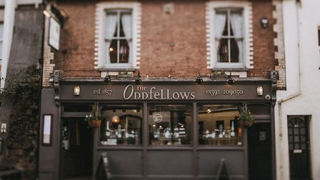 The Oddfellows ticks all the right boxes and is a jewel in the crown of Exeters indie scene