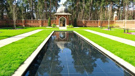 The Muslim Burial Ground Peace Garden at Horsell Common, Woking