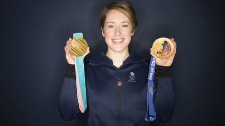 Lizzie may be a double Olympic champion, but she's most relaxed in Hampshire