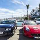 A classic sports car is the only way to get around town