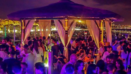 A night on the open air terrace at Pangea is a must for anyone looking to live the A-list lifestyle