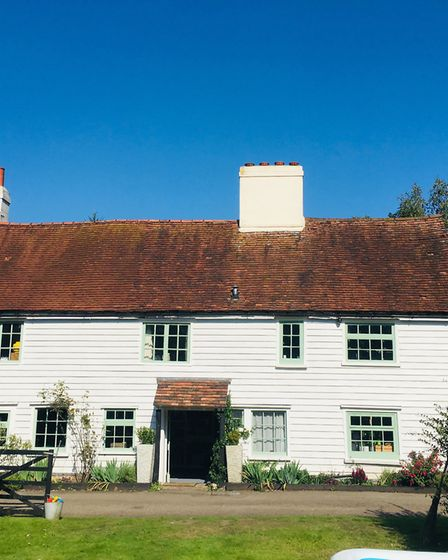 The house dates back to 1710 and was originally three workers' cottages
