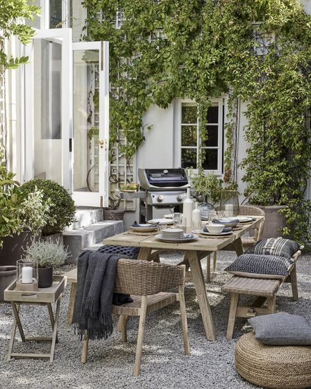 Creating aesthetically pleasing outdoor space is a relatively straightforward and easy win