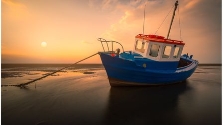 Evening light, Meols by Andy Light.
