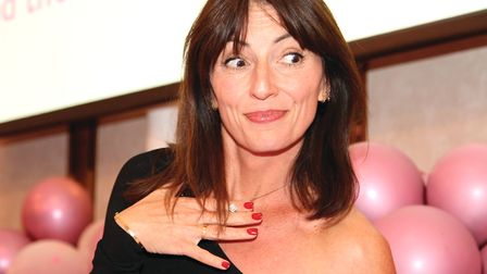 Davina McCall at last year's Dine with Davina event in Southampton (Photo: Lee Collier Photography)