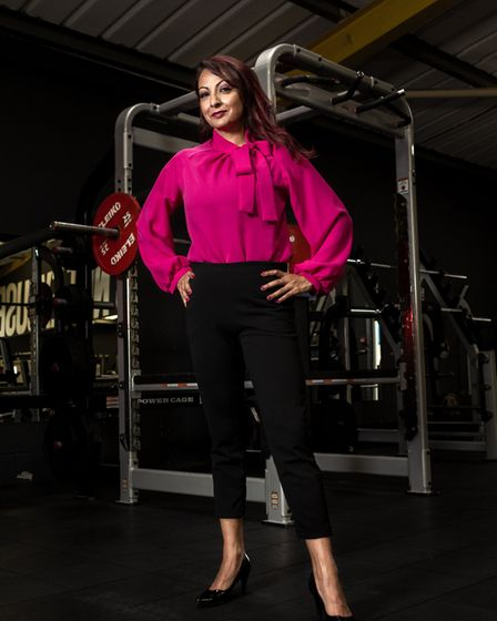 Burgess Hill businesswoman and powerlifter Aneela Rose