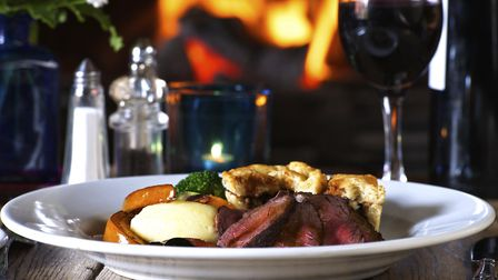 There are so many places to find a traditional Sunday roast in the Cotswolds. Photo credit: rosswood