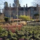 The new winter garden has replaced the former planting on the west side of the Elizabethan mansion
