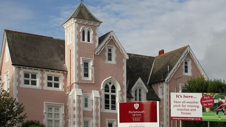 Portsmouth High School, an independent school for girls from three to 18, was partly designed by arc