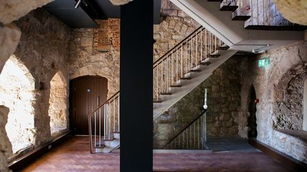 Images of the 3.1m refurbishment project, before exhibitions are installed. The Tower Photo: Courtes