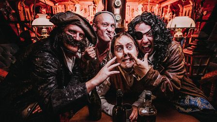 The classic tale Treasure Island gets a comedy twist from Le Navet Bete. PICTURE: MATT AUSTIN