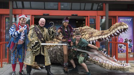 The Orchard Theatre's production of Peter Pan has launched
